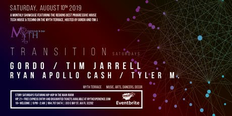 Transition at Myth Terrace | Saturday 08.10.19 tickets