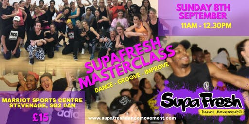 SUPAFRESH MASTERCLASS