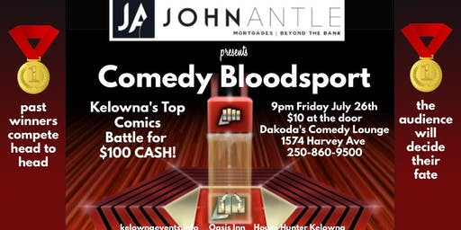 John Antle presents Comedy Bloodsport