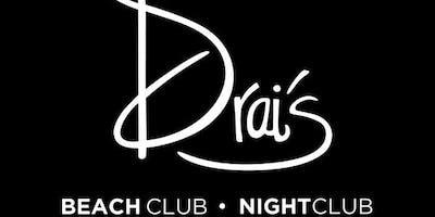 Drai's Nightclub - Vegas Guest List - HipHop - 9/18