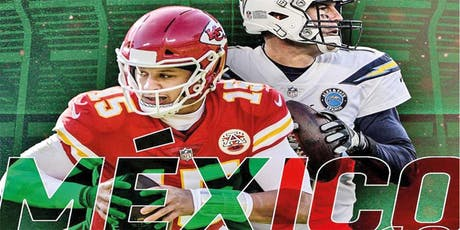 Arrowhead Tribe & Bolt Up Force: Mexico City 2019 MNF Chiefs vs Chargers entradas