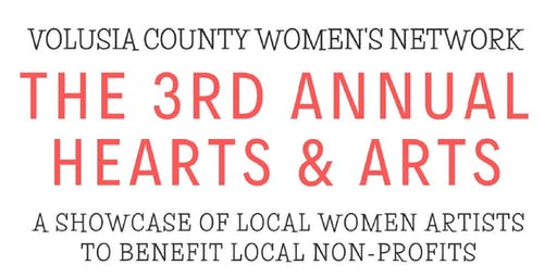 3rd Annual Hearts & Arts