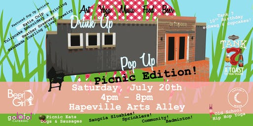 Drink Up Pop Up: Community Picnic Edition!