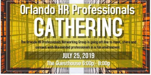 Orlando HR Professionals Gathering Summer 2019