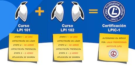 Curso de Certificacion LPIC-1 boletos