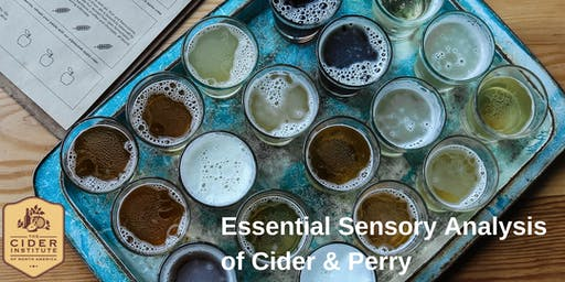 Essential Sensory Analysis of Cider & Perry