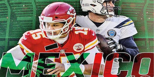 Arrowhead Tribe & Bolt Up Force: Mexico City 2019 MNF Chiefs vs Chargers