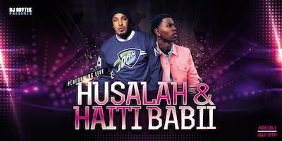 Husalah & Haiti Babii performing live @ the Palladium Nightclub in Modesto