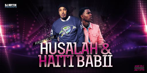 Husalah & Haiti Babii performing live @ the Palladium Nightclub in Modesto