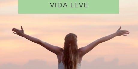 Workshop Gratuito: VIDA LEVE  Coaching de bem-estar e mudança de hábitos bilhetes