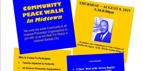 Community Peace Walk  tickets