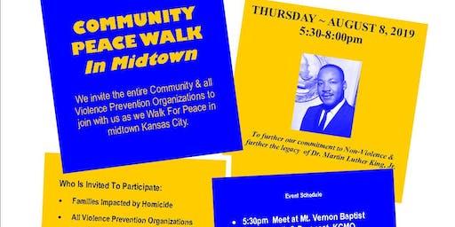 Community Peace Walk