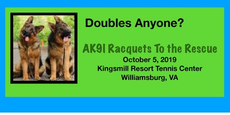 AK9I Racquets to the Rescue At Kingsmill Resort tickets