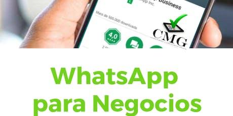 ✓CMG - WhatsApp para Negocios Taller Práctico tickets