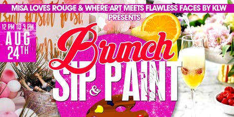 Brunch, Sip, and Paint tickets