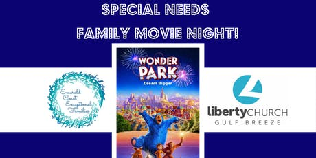 Free Special Needs Family Movie Night tickets