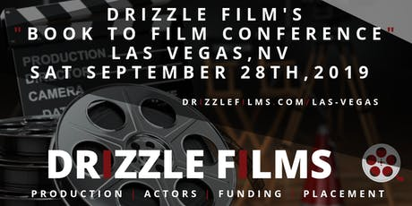 Drizzle Films Book To Film Conference tickets