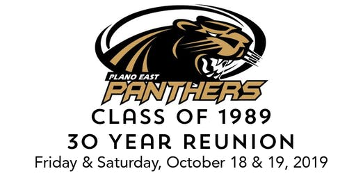 30 Year Reunion - Class of 1989 Plano East Senior High