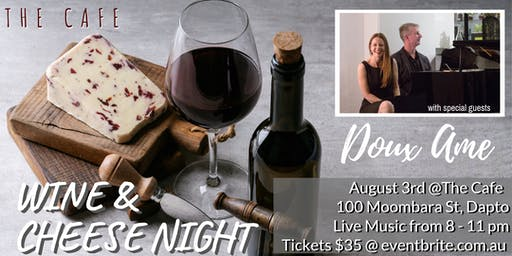 Wine and Cheese night @ the DAC