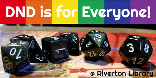 DND is for Everyone - Young Adult Game Night