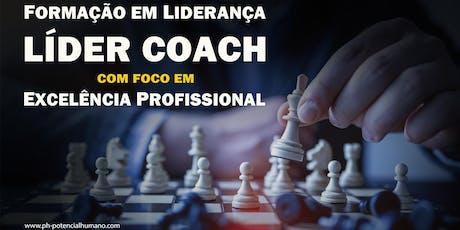 FORMAÇÃO EM LIDERANÇA - Líder Coach ingressos