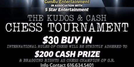 The Kudos & Cash CHESS TOURNAMENT tickets