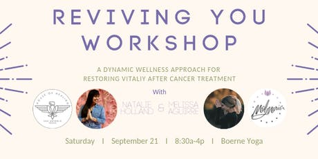 Reviving You: A Life After Cancer Workshop  tickets