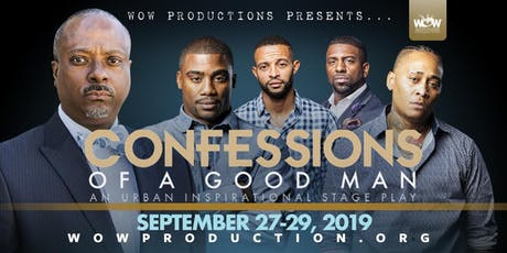 CONFESSIONS OF A GOOD MAN STAGE PLAY tickets