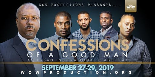CONFESSIONS OF A GOOD MAN LIVE RECORDING STAGE PLAY