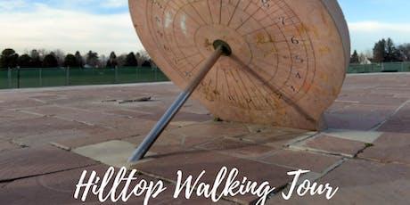 Hilltop Walking Tour tickets