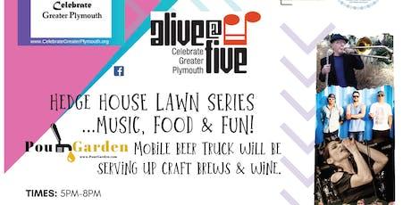 Alive@Five Concert - Plymouth - Aldous Collins Trio tickets