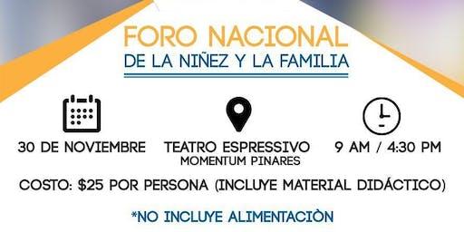 Foro Nacional de la Niñez y la Familia