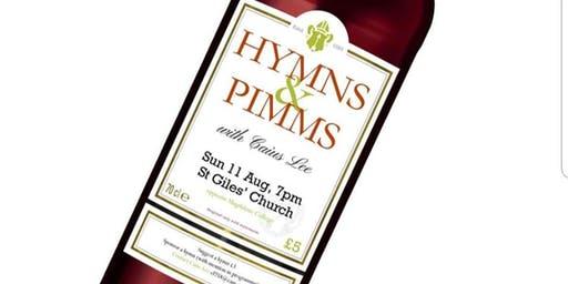 Hymns & Pimms! Vote and sing your most loved hymns!
