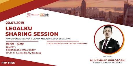 Legalku Sharing Sessions : Kunci Pengembangan Usaha Melalui Aspek Legalitas tickets