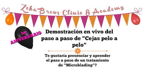 DEMOSTRACIÓN EN VIVO DE MICROBLADING tickets
