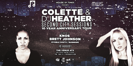 House of Tones Presents: Colette and DJ Heather (3-Hour Set) tickets