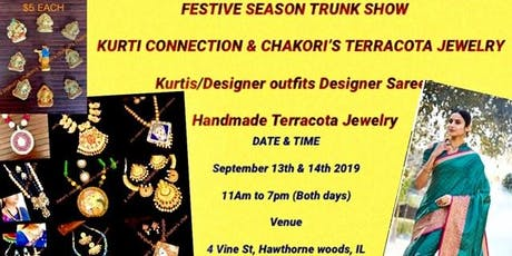 FESTIVE SEASON - TRUNK SHOW tickets