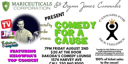 Mariceuticals & Brynn Jones Cannabis' Comedy 4 a Cause 4 Cannabis for Kids