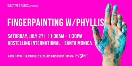 Finger Painting w/Phyllis tickets
