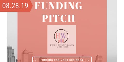 Funding Pitch By Henry County Women in Business