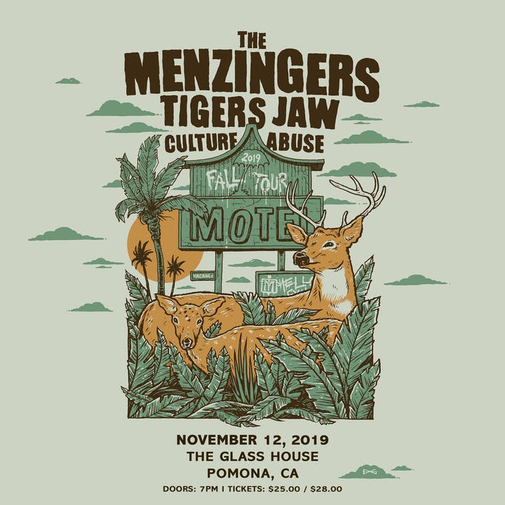 The Glass House » The Menzingers with Tigers Jaw, Culture Abuse