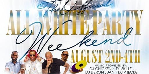 Annual All White Party Weekend