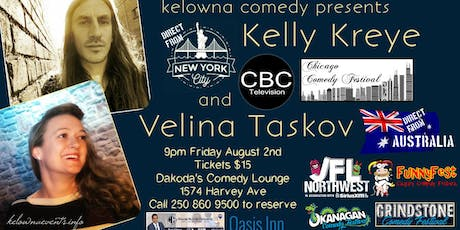 Kelly Kreye and Velina Taskov tickets