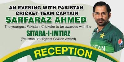"""An Evening With Pakistan Cricket Team Captain """"Sarfaraz Ahmed"""""""
