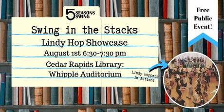 Swing in the Stacks tickets