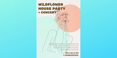 HugQuarters Party and Concerts Ft. Alarke, The Andalusian, and Alex Purdy tickets