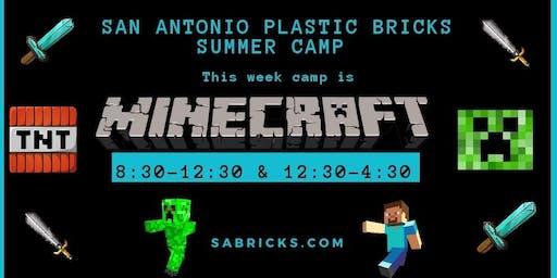 Minecraft Lego Camp
