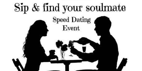 Sip and find your soulmate tickets