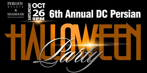6th Annual DC Persian Halloween Party