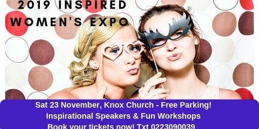 Inspired Women's Expo 'Excellence in Action' Sat 23 Nov 8.15am-4.45pm